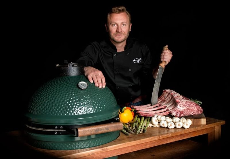 Bart van Rijen heeft passie voor eten en barbecue